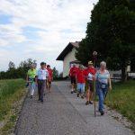 Pilgergruppe: Abgang WindpassingerKapelle